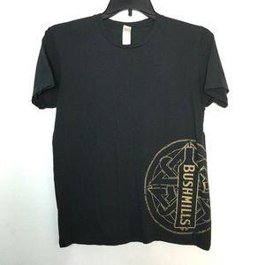 Bushmills ☘️ L Short Sleeve Shirt Black St Pats